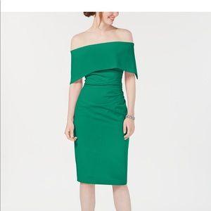 Vince Camuto Off-The-Shoulder Sheath Dress